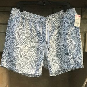 Onia The Charles Abstract Fan Swim Trunks